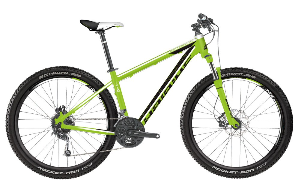 "Edition 7.40 Plus 27.5"" 20-V Deore 16 Haibike lima/negro mate"